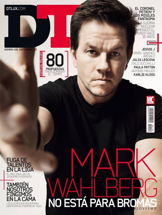 Mark Wahlberg featured on the DTLux cover from September 2013