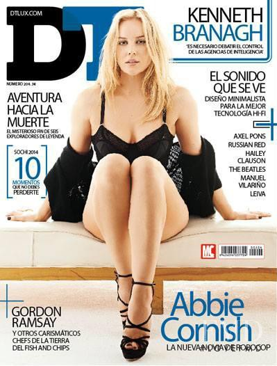Abbie Cornish featured on the DTLux cover from February 2014