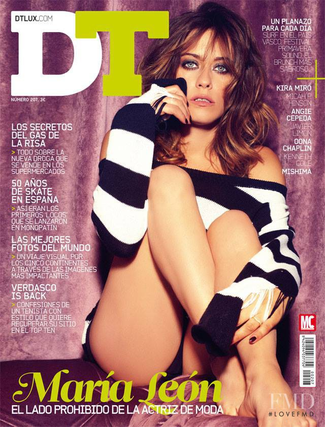 María León featured on the DTLux cover from May 2014