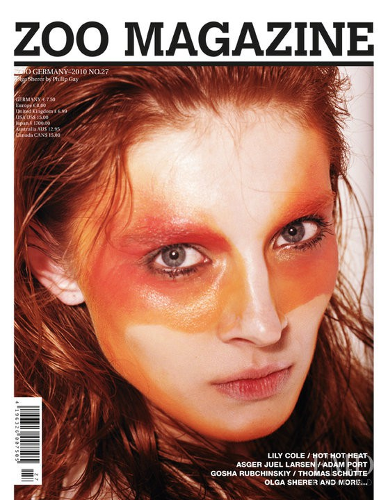 Cover of Zoo Magazine with Olga Sherer, May 2010 (ID:7152 ... - photo#11