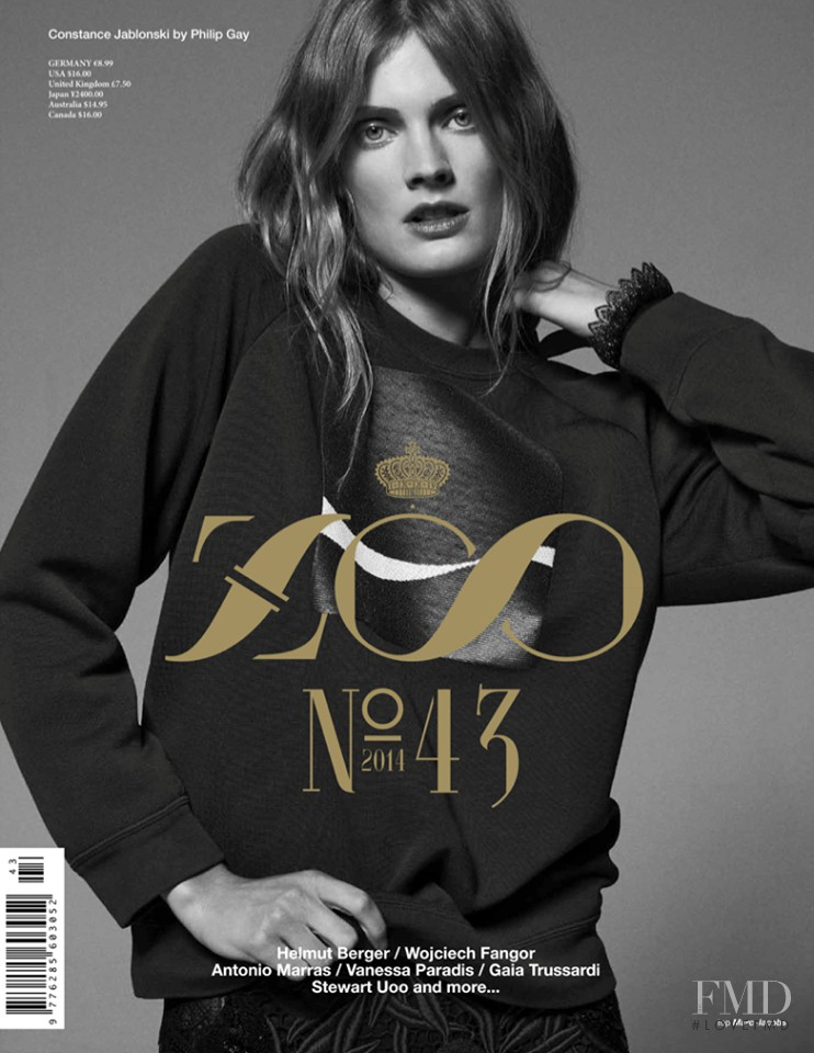 Cover of Zoo Magazine with Constance Jablonski, June 2014 ... - photo#5