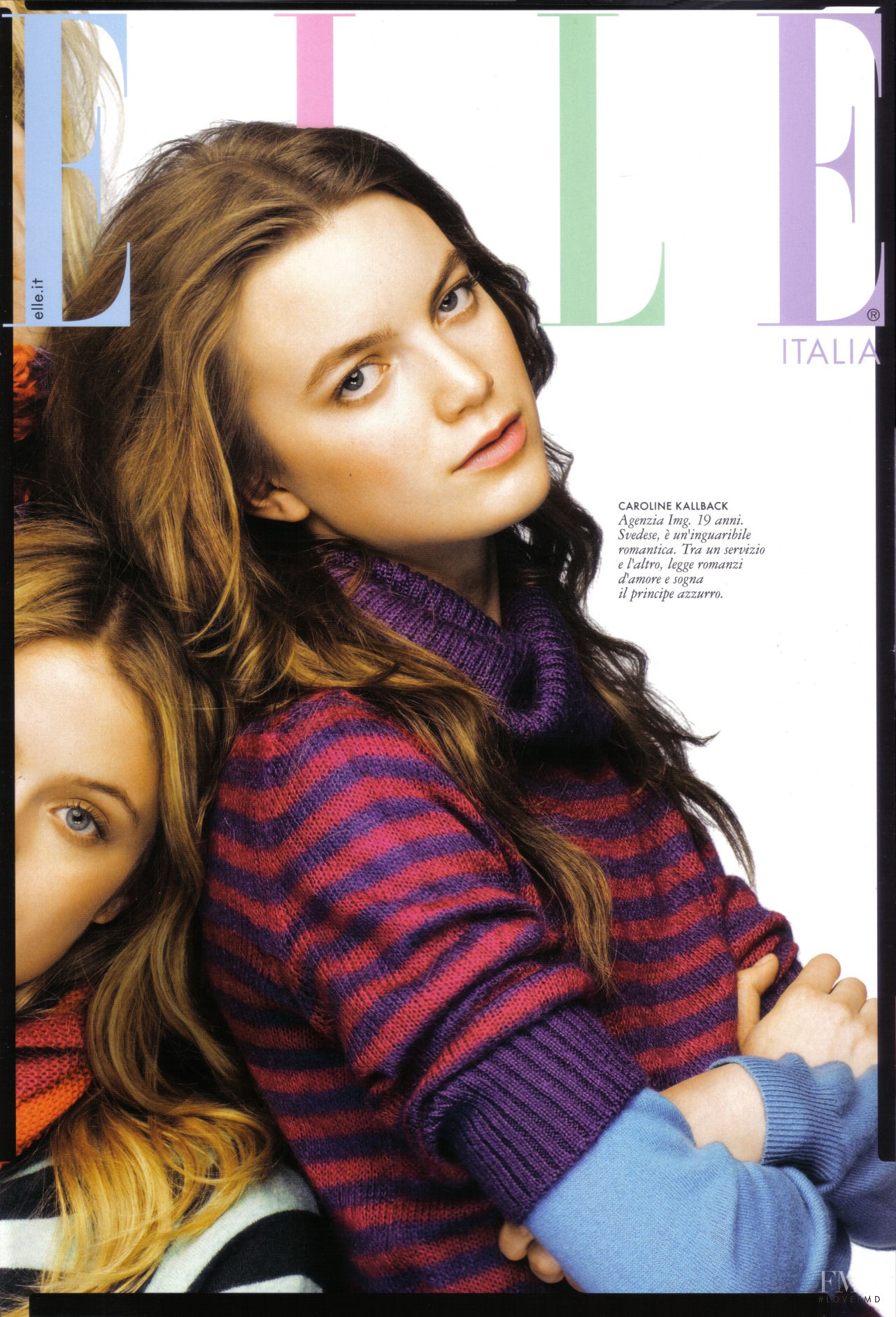 Cover of elle italy august 2009 id 8019 magazines for Elle italia