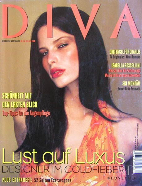 Cover of diva with viera schottertova september 2000 id for Diva 2000