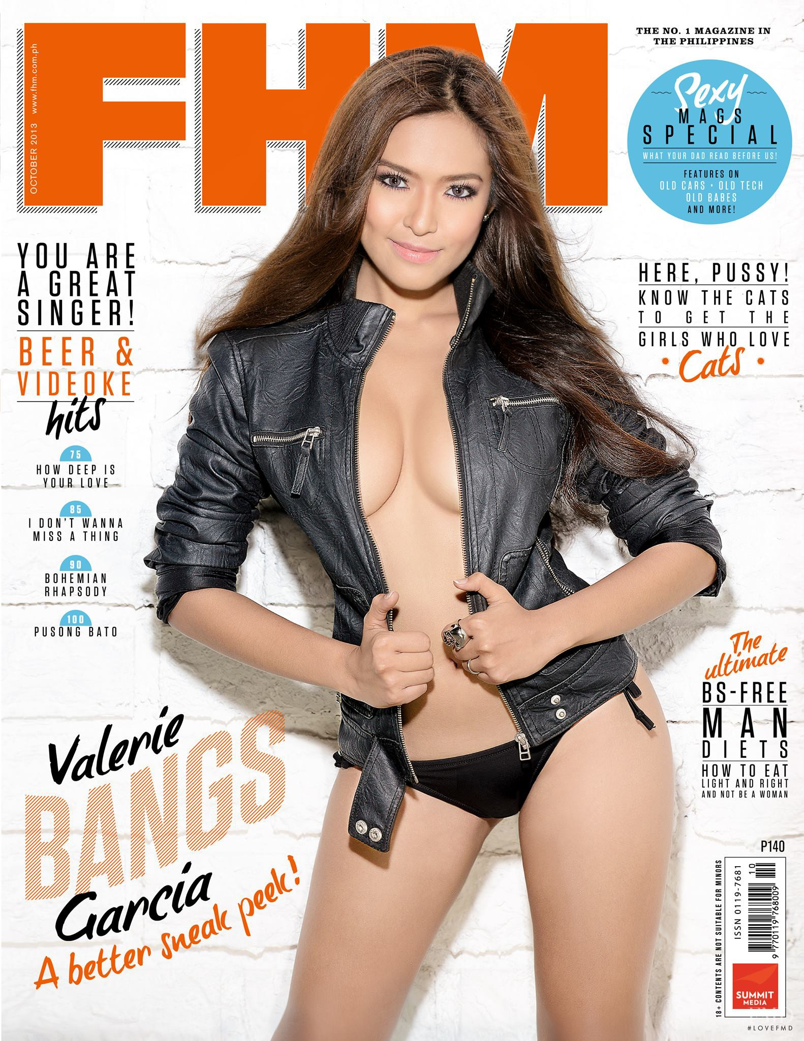 Cover Of FHM Philippines With Valerie Bangs Garcia