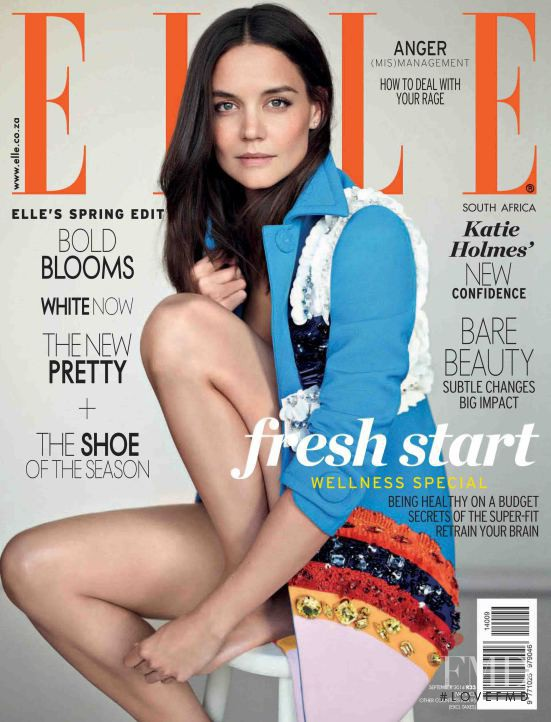 featured on the Elle South Africa cover from September 2014