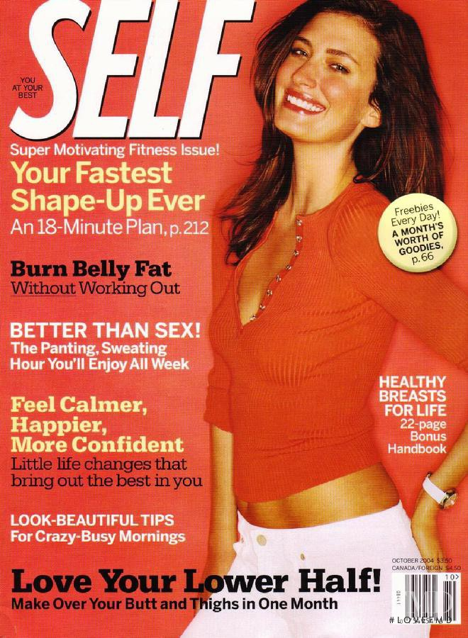 featured on the SELF cover from October 2004