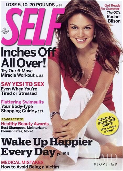 Rachel Bilson featured on the SELF cover from May 2006