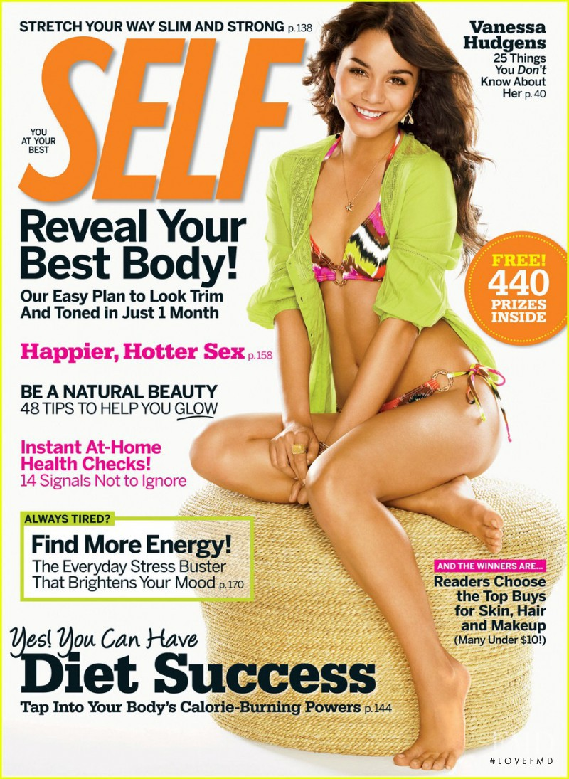Normie Macalimbal featured on the SELF cover from April 2009