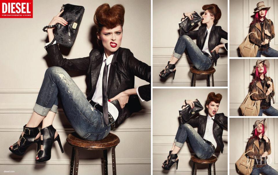Реклама в модной фотографии