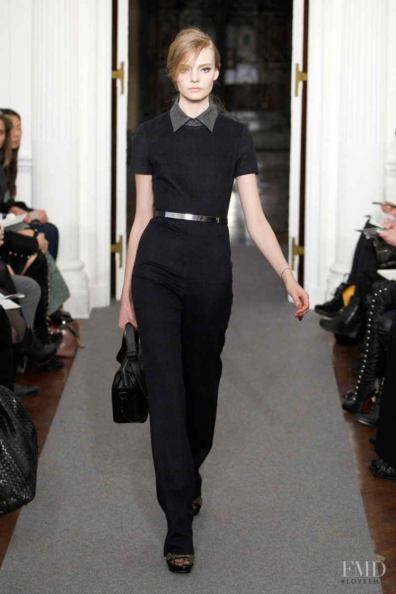 Nimuë Smit featured in  the Ports 1961 fashion show for Autumn/Winter 2011