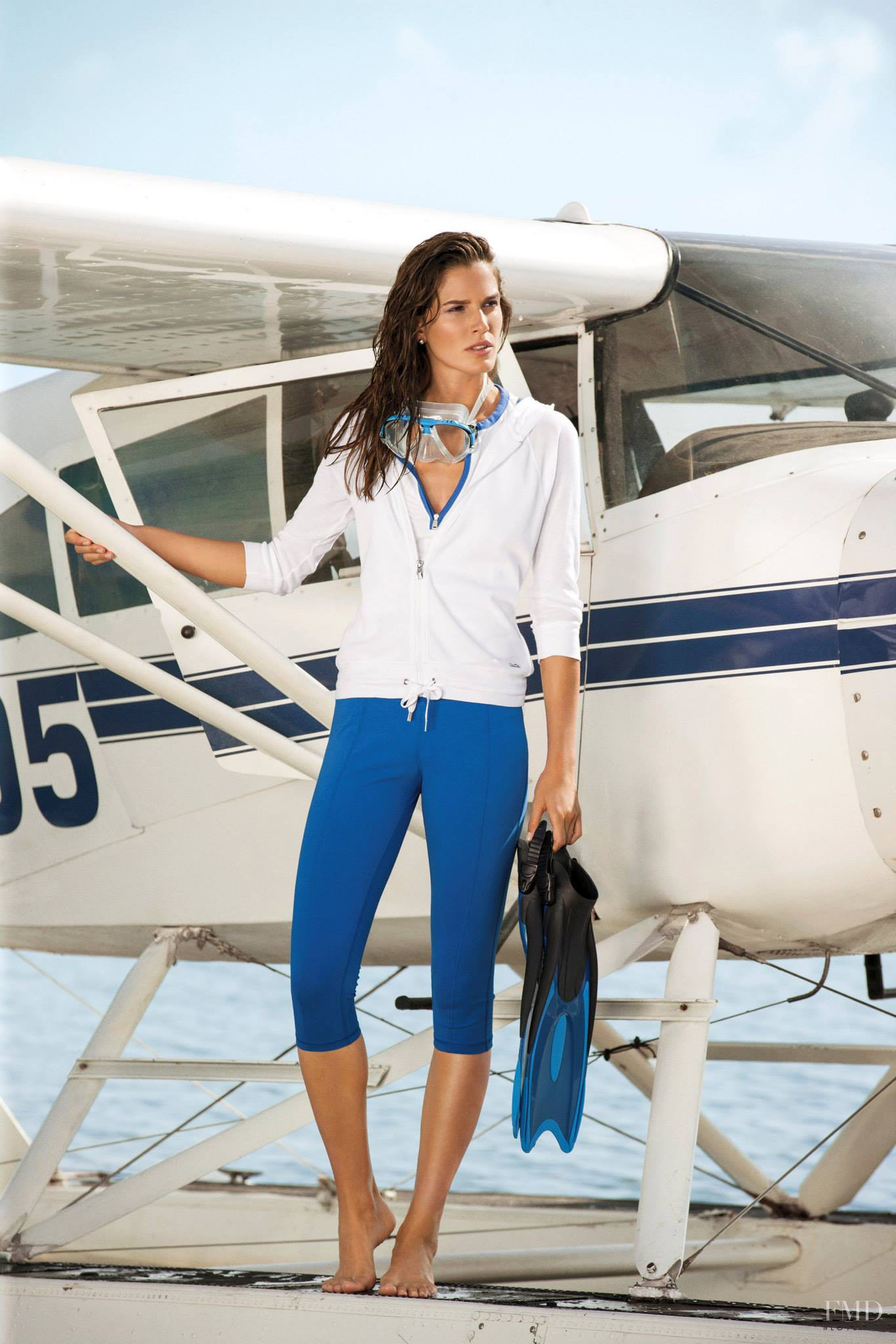 Chiara Baschetti featured in the Lauren by Ralph Lauren catalogue for Summer 2013. View this photograph in high resolution