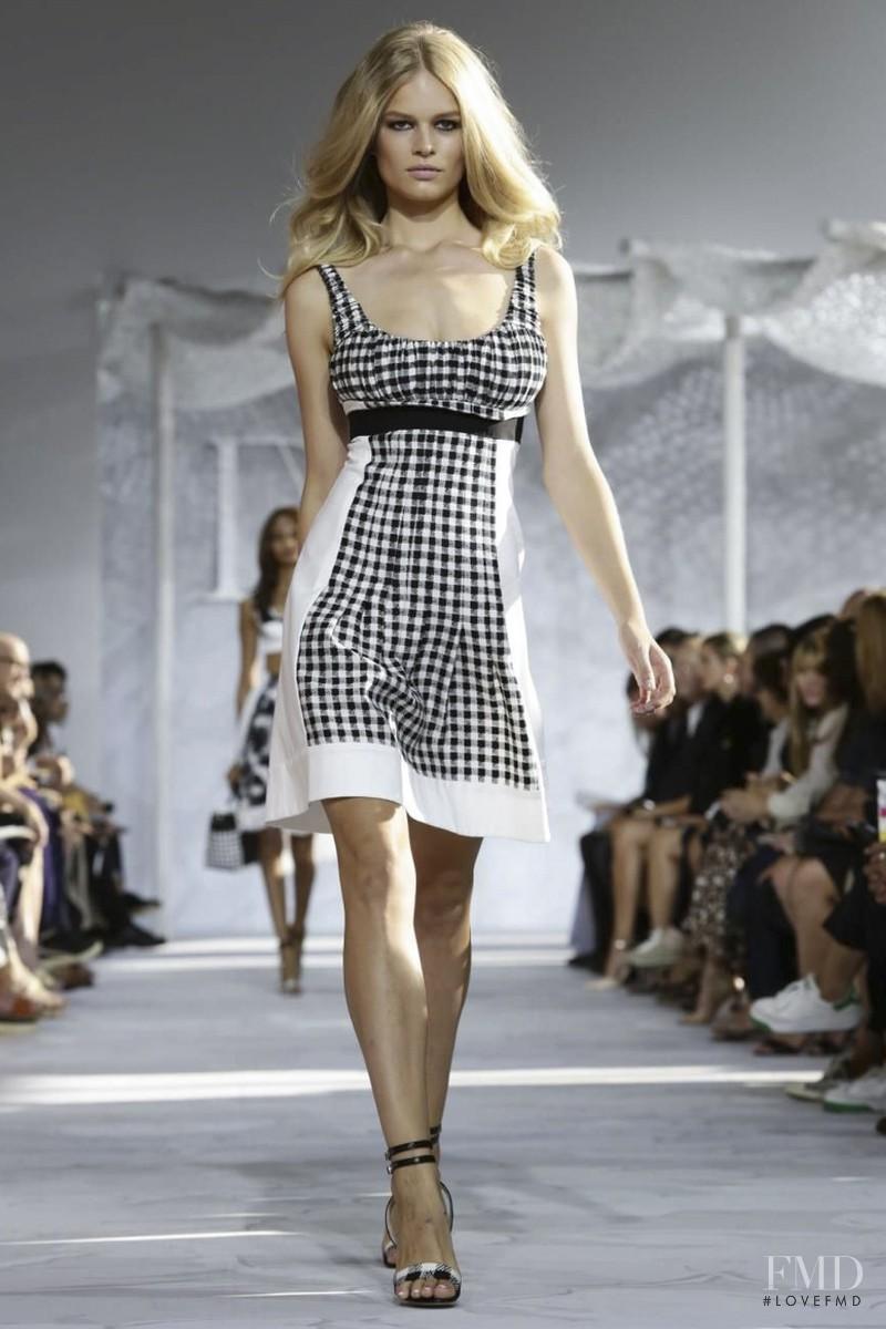 Anna Ewers featured in  the Diane Von F�rstenberg fashion show for Spring/Summer 2015