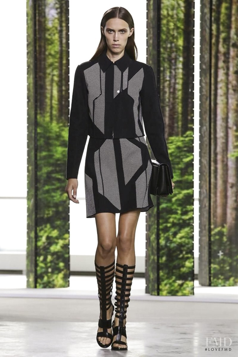 Georgia Hilmer featured in  the Hugo Boss fashion show for Spring/Summer 2015