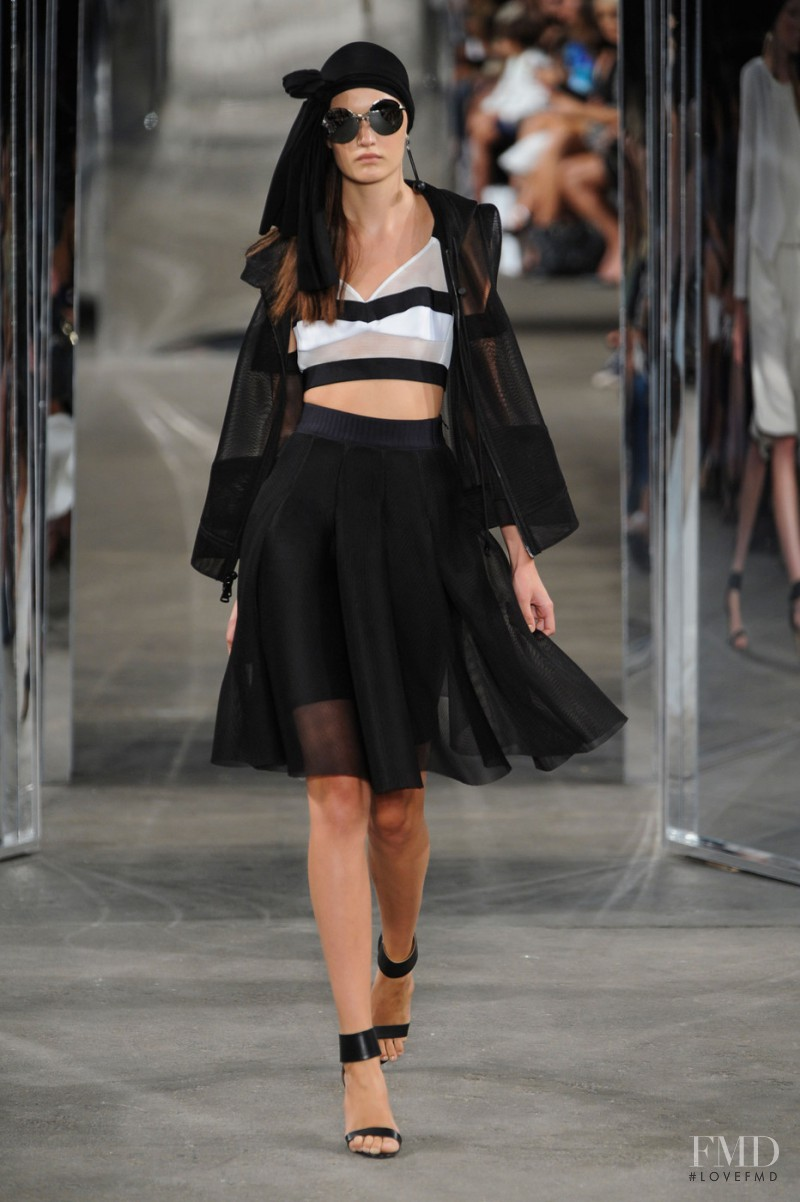 Milly fashion show for Spring/Summer 2015