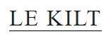 Le Kilt