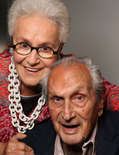 Ottavio and Rosita Missoni now Angela Missoni