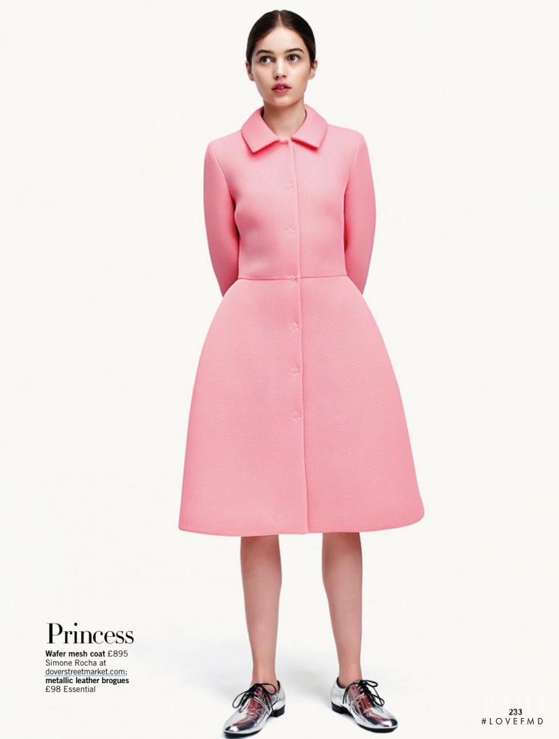 Constanze Saemann featured in Pretty In Pink, September 2013