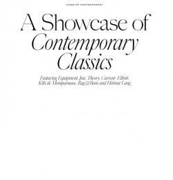 A Showcase Of Contemporary Classics