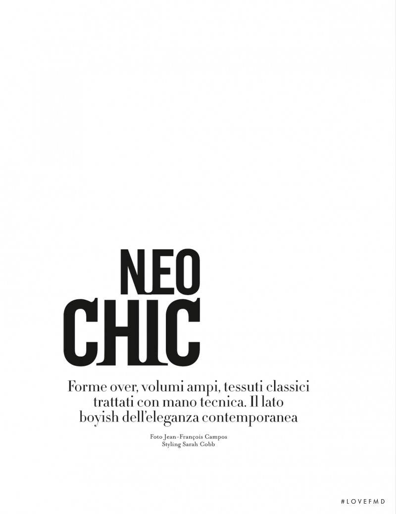 Neo Chic, October 2013