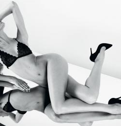 Martha Hunt & Candice Swanepoel