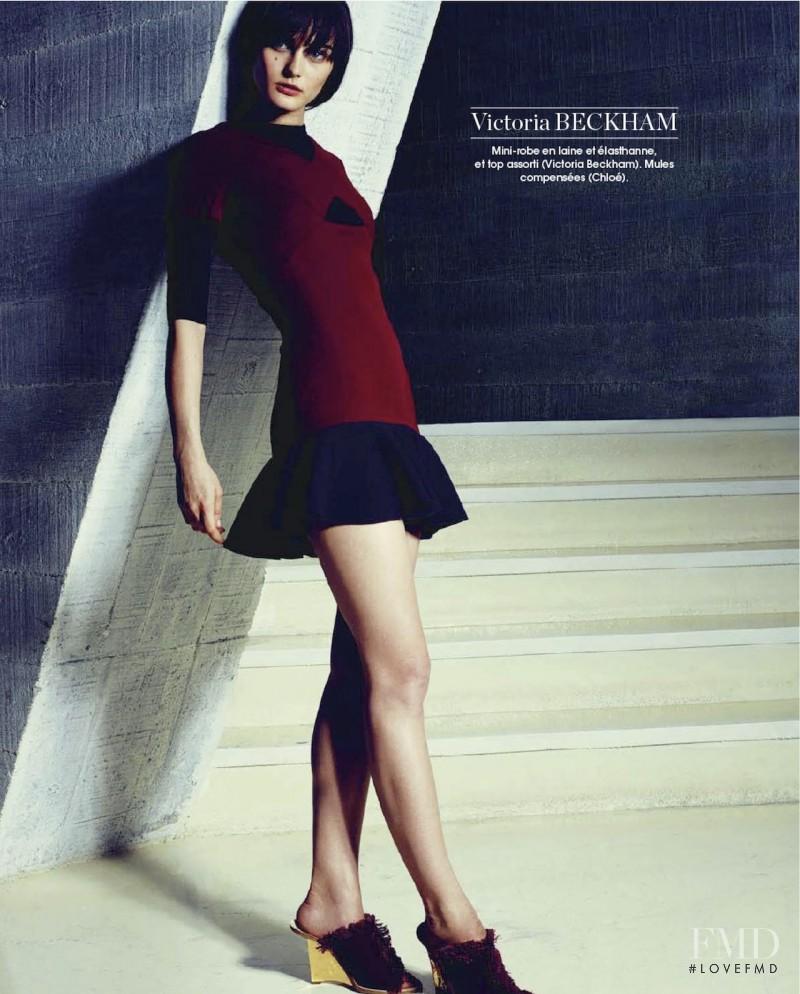 Ksenia Nazarenko featured in Créateurs - La Nouvelle Vague, February 2014