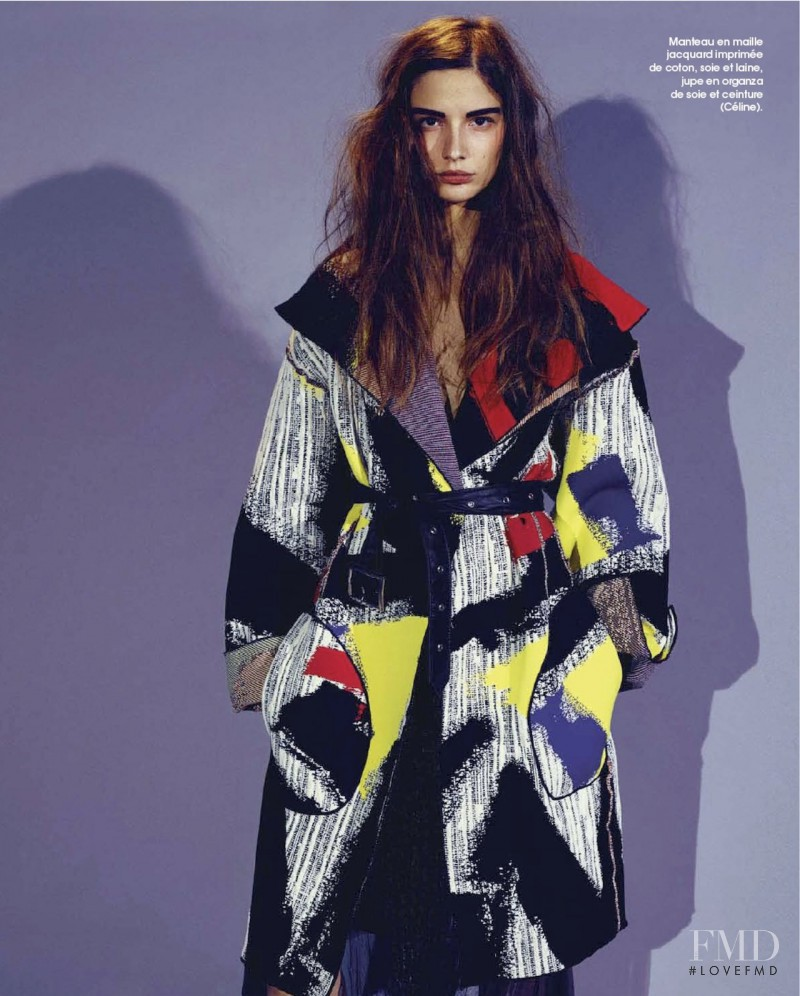 Roberta Cardenio featured in Colors, March 2014