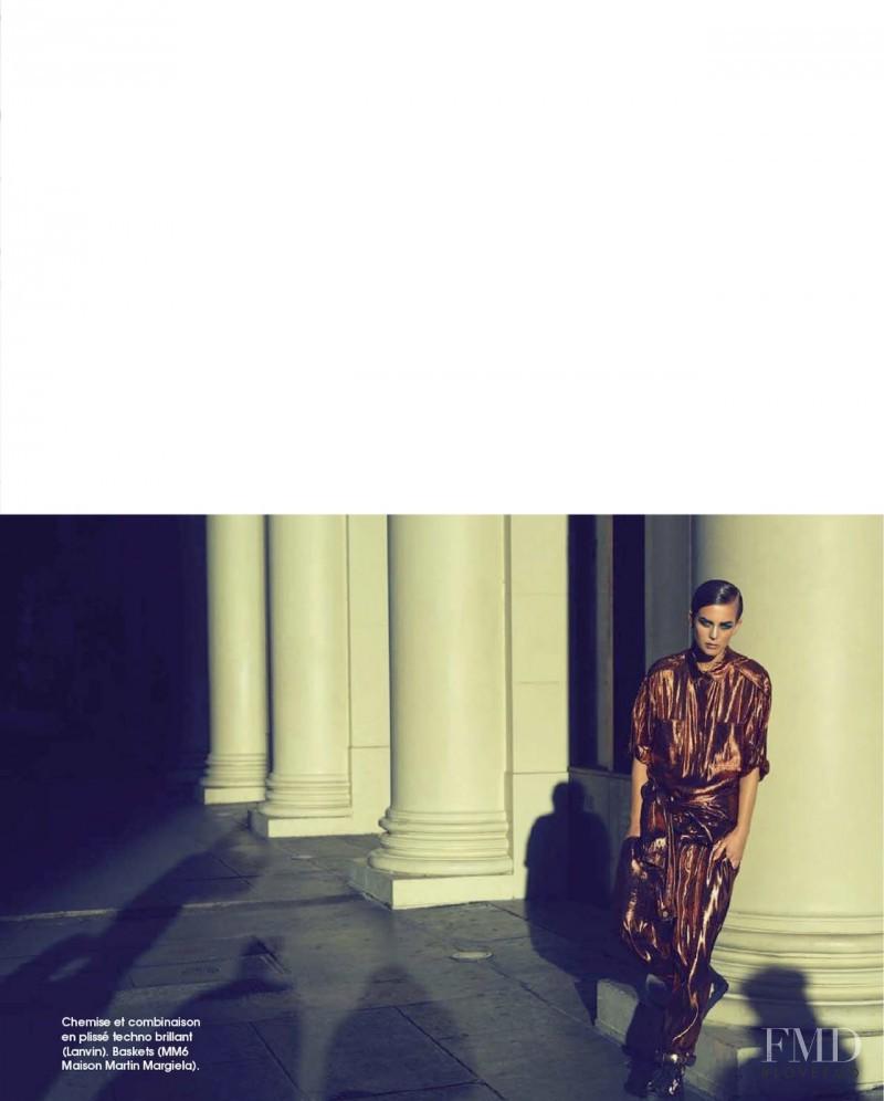 Ellinore Erichsen featured in Masculin, March 2014