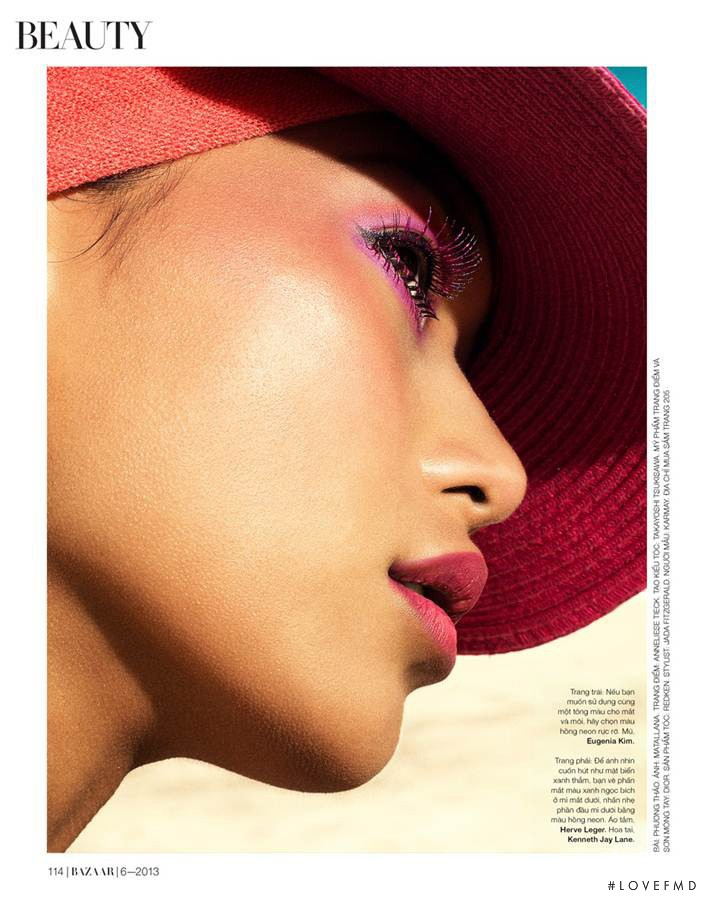 Karmay Ngai featured in Beauty, June 2013