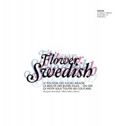 Flower Swedish