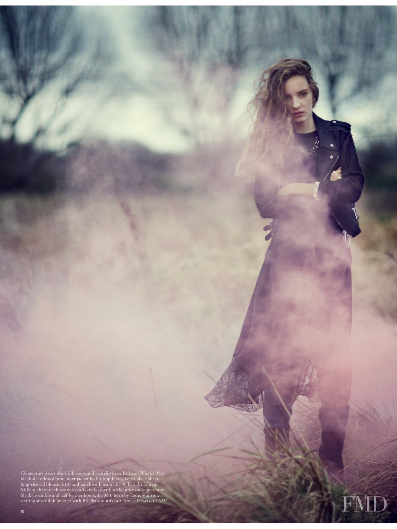Clémentine Deraedt featured in Misty, February 2014