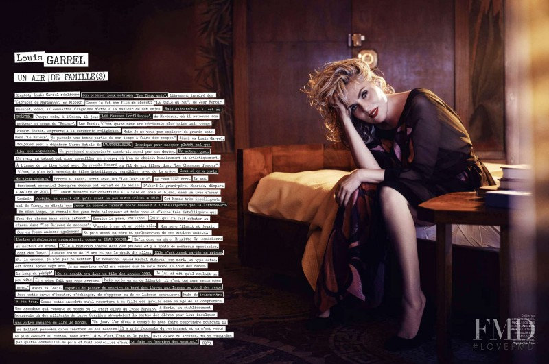Emmanuelle Seigner featured in Obession, May 2014
