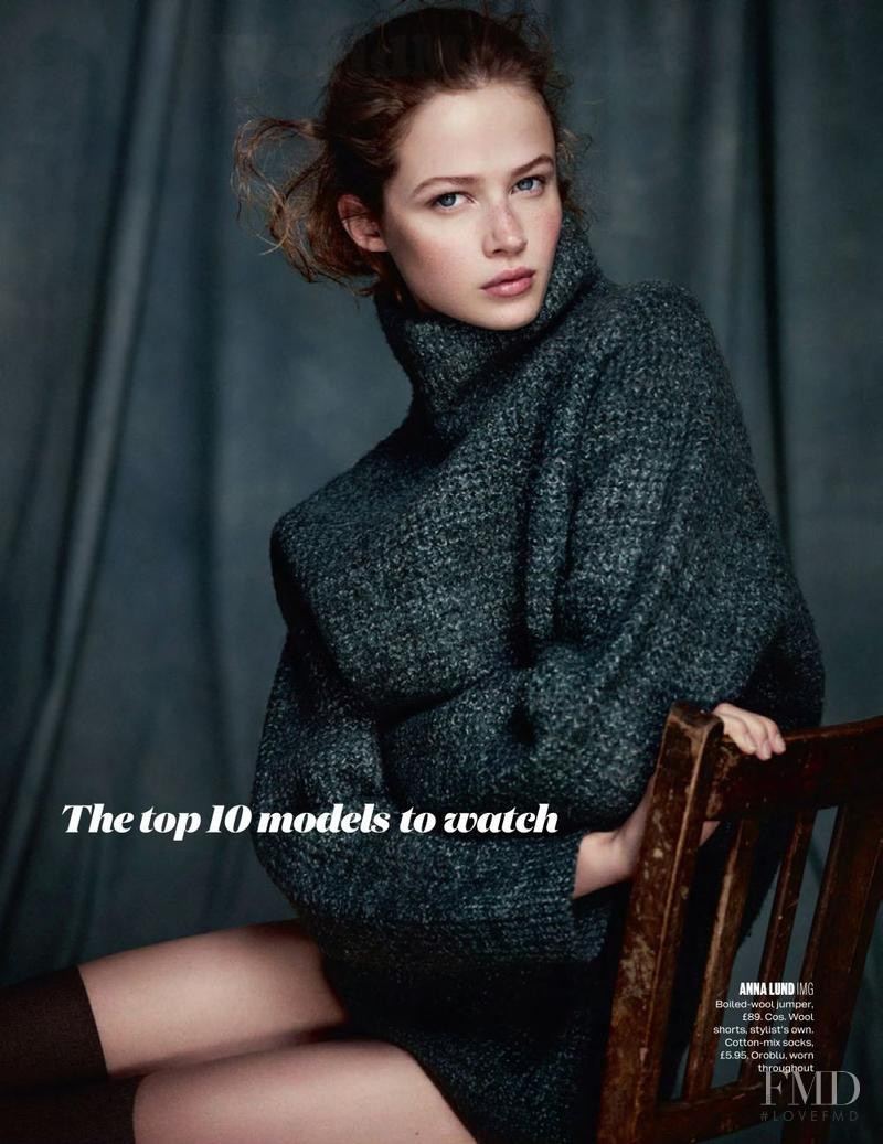 Anna Lund Sorensen featured in New Girl, November 2013