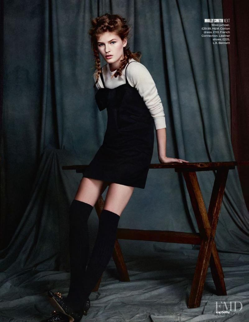 Molly Smith featured in New Girl, November 2013