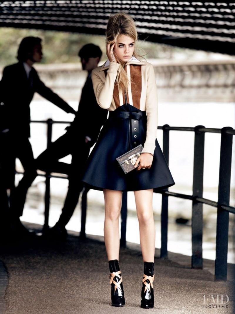 Cara Delevingne featured in Mod Goddess, July 2014