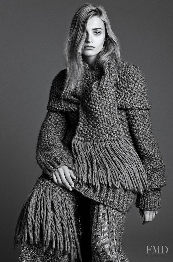 Anna Maria Jagodzinska featured in The Gray Lady, September 2014