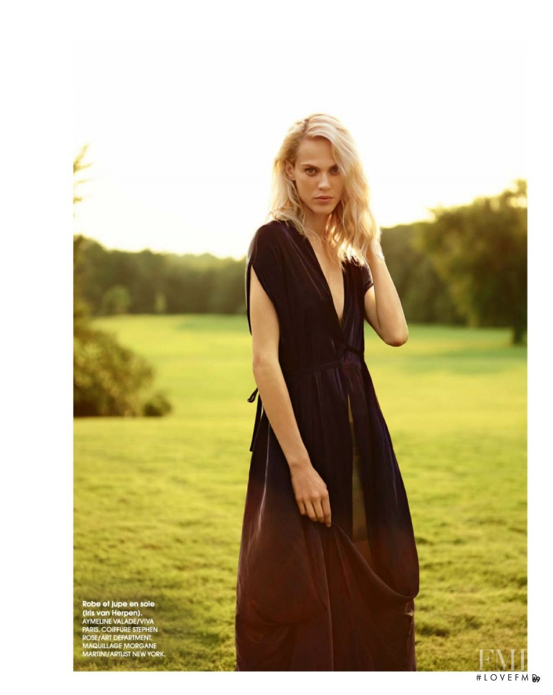 Aymeline Valade featured in Mademoiselle Aymeline Valade, November 2014