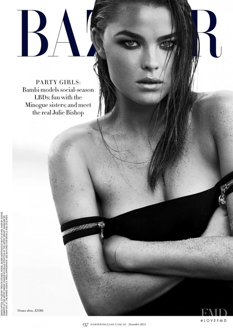Bambi Northwood-Blyth featured in Little Black Party Dress, December 2014