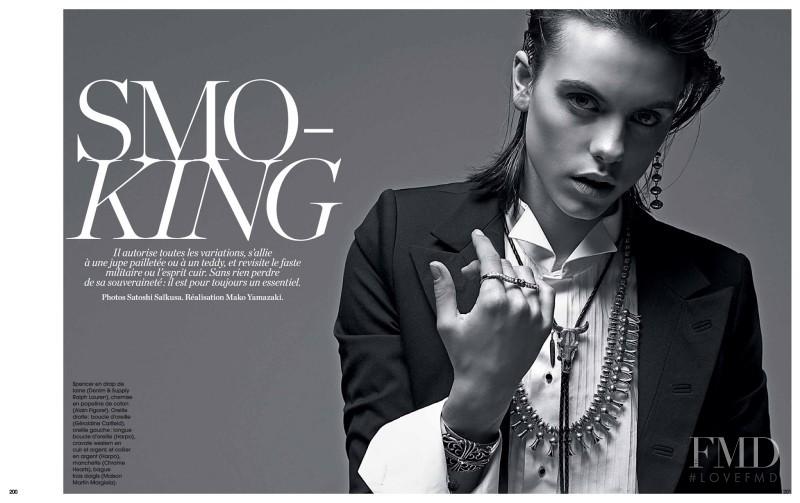 Corinna Ingenleuf featured in Smoking, January 2015
