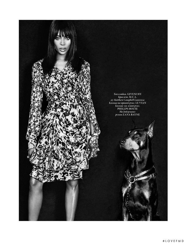 Naomi Campbell featured in Naomi Campbell, January 2015