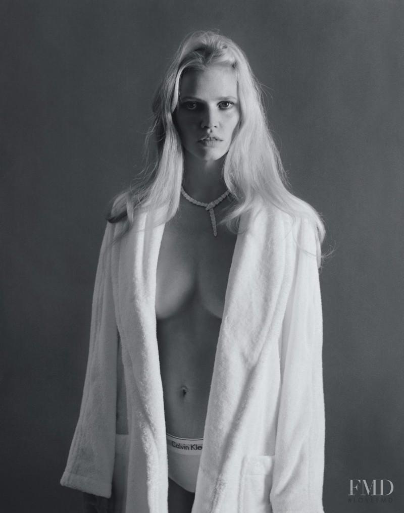 Lara Stone featured in Lara, May 2015