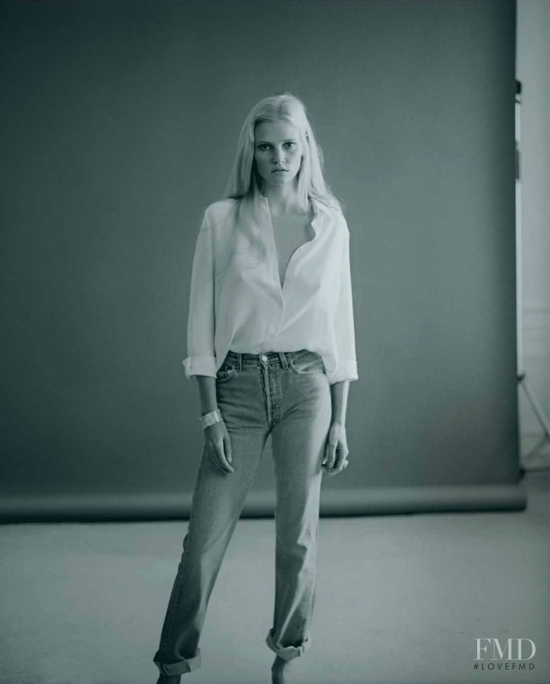 Lara Stone featured in Lara, May 2015
