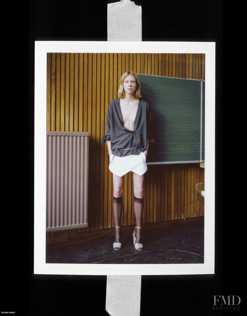 Annely Bouma featured in Annely, May 2014