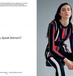 Do You Speak Balmain?