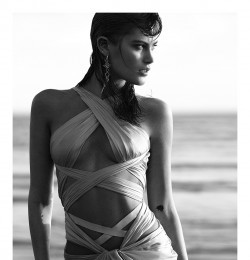 Cantos De Sirena in Vogue Spain with Catherine McNeil