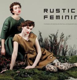 Rustic Femininity