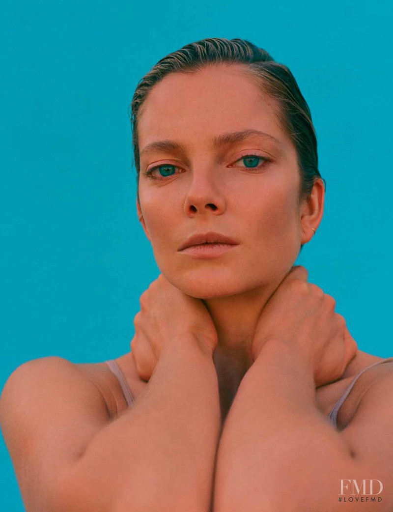 Eniko Mihalik featured in Le Plaisir Sur La Peau, July 2015