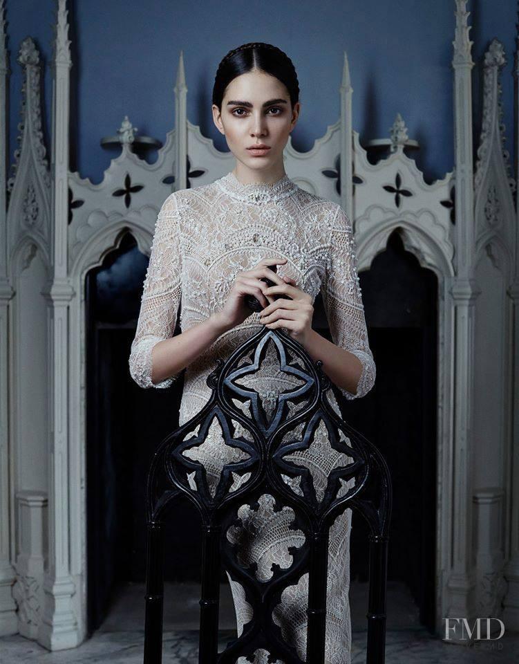 Tako Natsvlishvili featured in White Gothic, June 2015