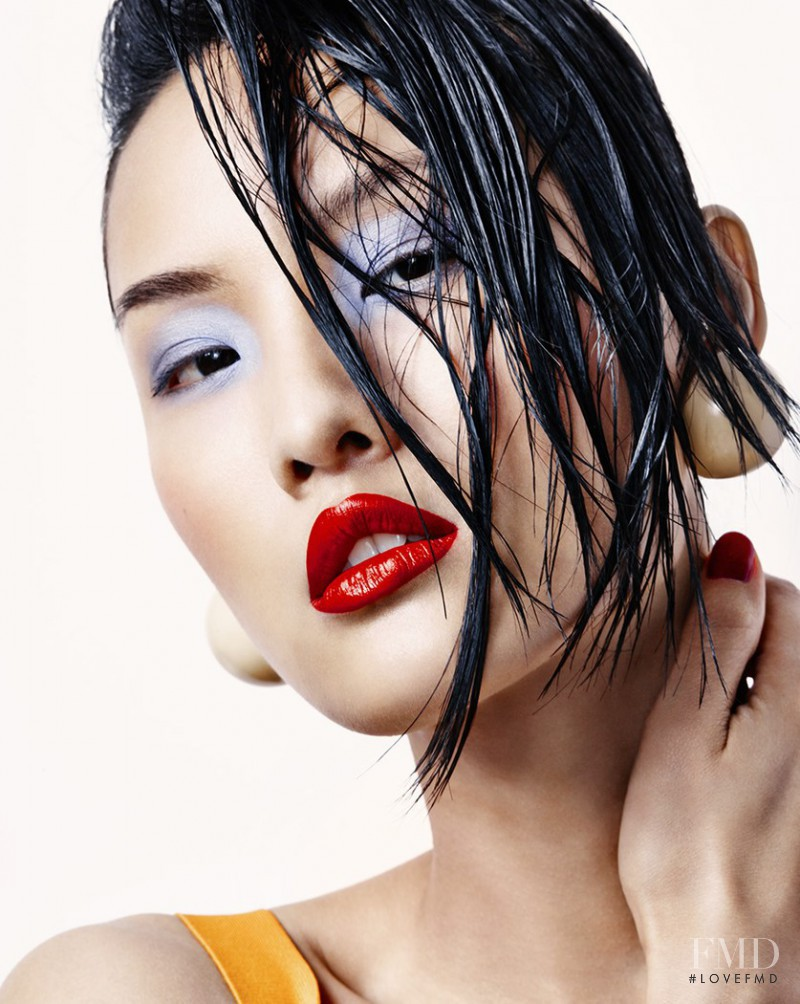 Gia Tang featured in Beauty, July 2014