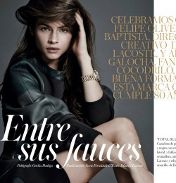 Entre Sus Fauces In Vogue Spain With Alba Galocha Fashion
