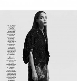 Joan Smalls and Riccardo Tisci Passions Francaises